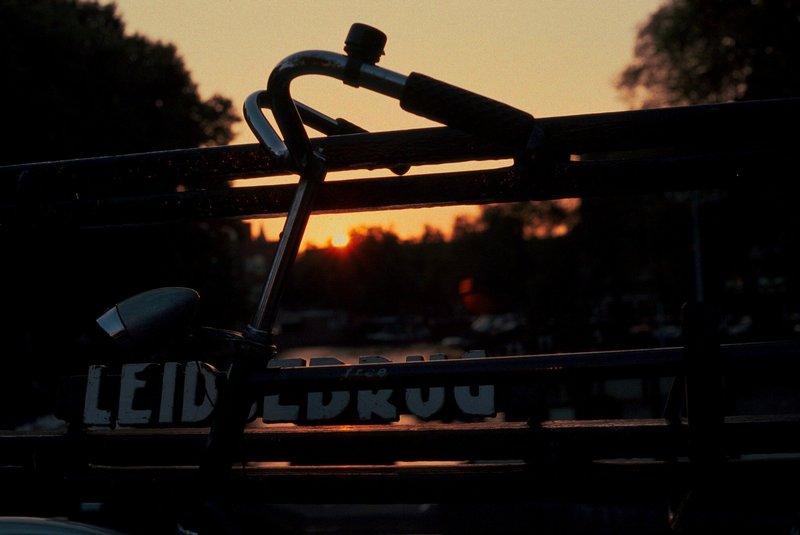 Sonnenuntergang an der Leidsebrug / dawn at Leidsebrug