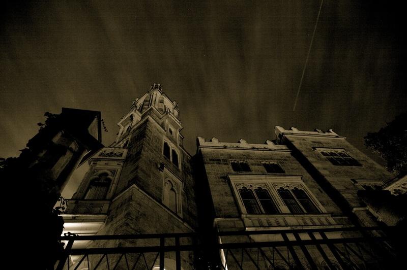 Schloss Eckberg bei Nacht I