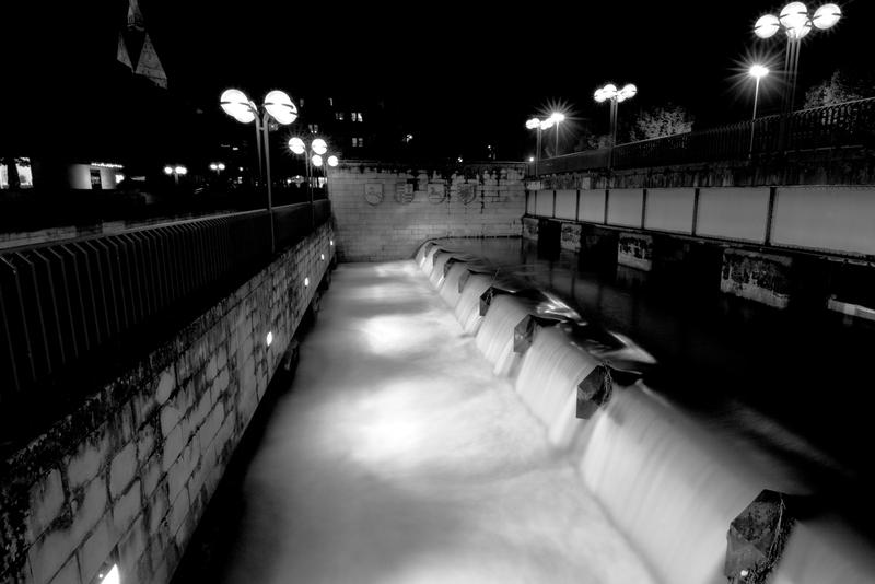 Leine bei Nacht