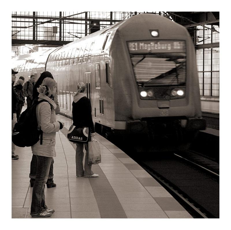 Fahrt nach Magdeburg