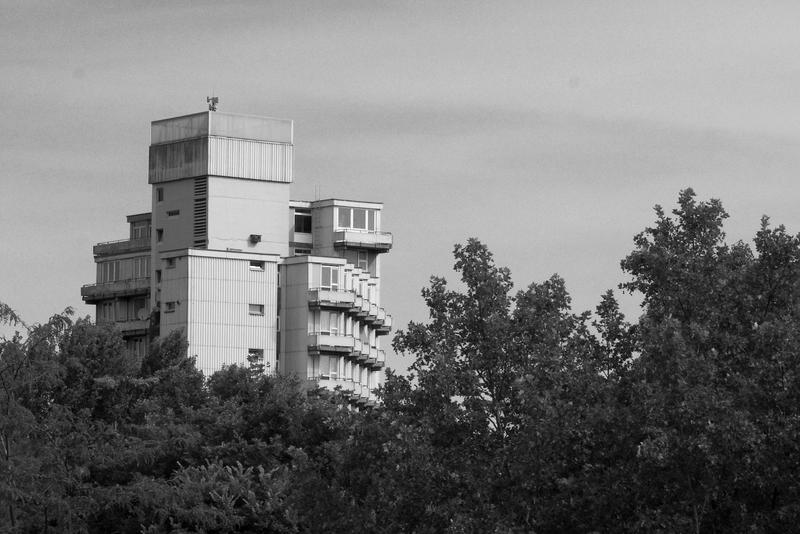 Blick vom S-Bahnhof Tiergarten