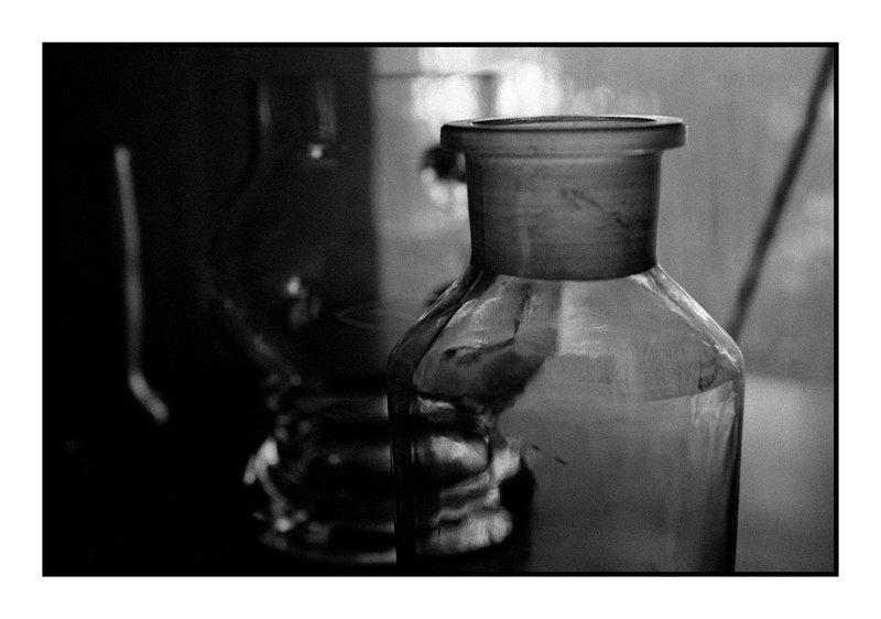 Erlenmeyerkolben und Vase I